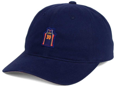 Golden State Warriors Mitchell and Ness NBA Deez Jersey Dad Hats