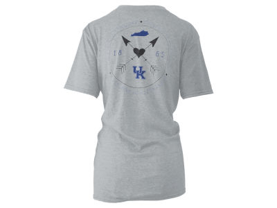 Kentucky Wildcats Pressbox NCAA Women's Boho Arrow Melange T-Shirt