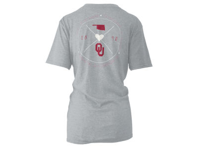 Oklahoma Sooners Pressbox NCAA Women's Boho Arrow Melange T-Shirt