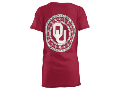 Oklahoma Sooners Pressbox NCAA Women's Big Bang Boyfriend T-Shirt