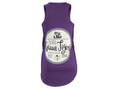 LSU Tigers Pressbox NCAA Women's Medallion Tank