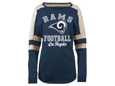 ... Los Angeles Rams 5th Ocean NFL Womens Space Dye Long Sleeve T-Shirt ... 8475b5294