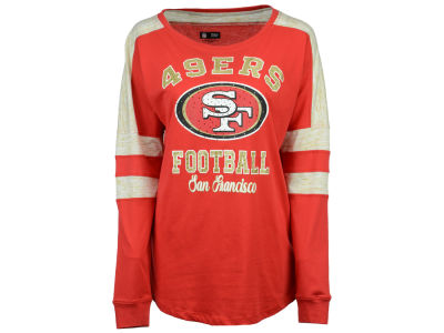 San Francisco 49ers 5th & Ocean NFL Women's Space Dye Long Sleeve T-Shirt