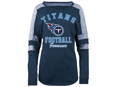 Tennessee Titans 5th & Ocean NFL Women's Space Dye Long Sleeve T-Shirt