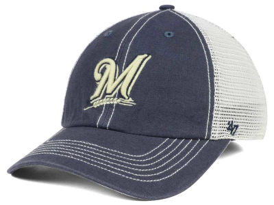 Milwaukee Brewers '47 MLB Prospect Mesh CLOSER Cap