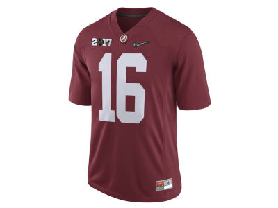 Alabama Crimson Tide Nike NCAA Men's 2017 College Football Playoffs Game Jersey