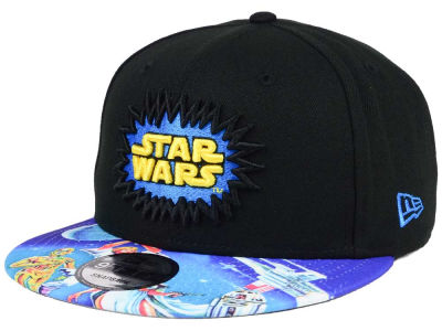 Star Wars Star Wars 40th Logo Sublimated Visor 9FIFTY Snapback Cap