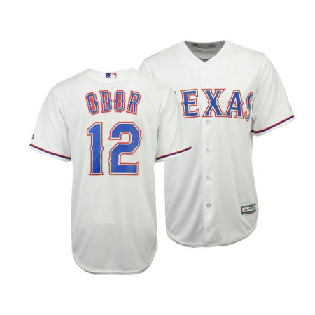 Texas Rangers Rougned Odor Majestic MLB Men's Player Replica Cool Base Jersey