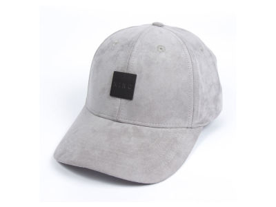 King Apparel Sterling Suede Curved Strapback Cap