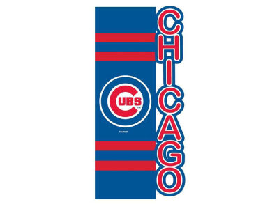 Chicago Cubs Evergreen Enterprises Sculpted Applique House Flag