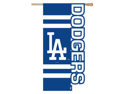 Los Angeles Dodgers Sculpted Applique House Flag