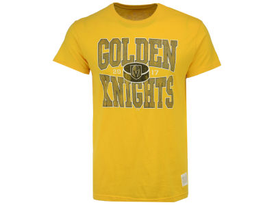 Vegas Golden Knights Retro Brand NHL Men's Vintage Super Soft T-Shirt