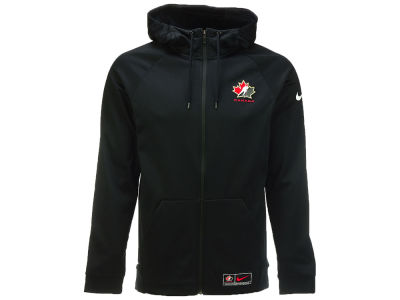 Canada Hockey Nike Therma Full Zip Hoodie