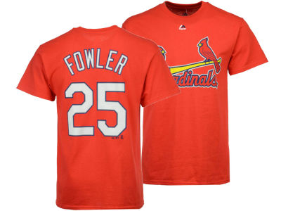 St. Louis Cardinals Dexter Fowler Majestic MLB Men's Official Player T-Shirt