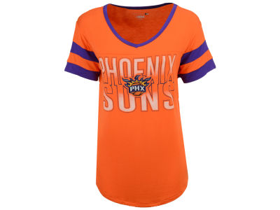 Phoenix Suns 5th & Ocean NBA Women's Hang Time Glitter T-Shirt
