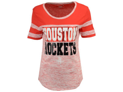 Houston Rockets 5th & Ocean NBA Women's Space Dye Foil T-Shirt