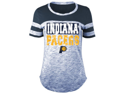 Indiana Pacers 5th & Ocean NBA Women's Space Dye Foil T-Shirt