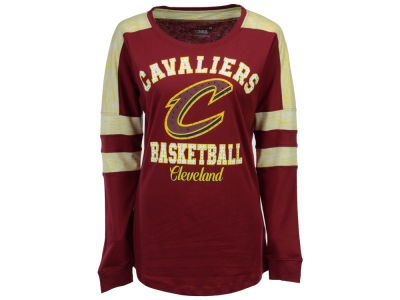 Cleveland Cavaliers 5th & Ocean NBA Women's Space Dye Long Sleeve T-Shirt