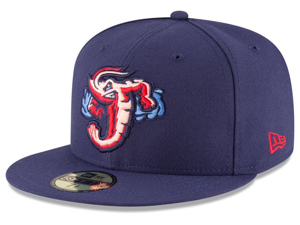 1e9b037e3f9 Jacksonville Jumbo Shrimp New Era MiLB AC 59FIFTY Cap