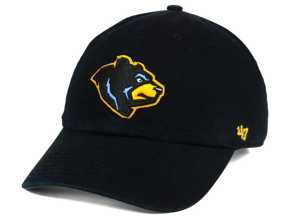 West Virginia Black Bears  47 MiLB  47 CLEAN UP Cap  f2258b02d07