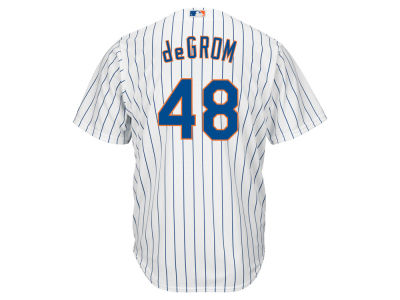 New York Mets Jacob deGrom Majestic MLB Men's Player Replica Cool Base Jersey