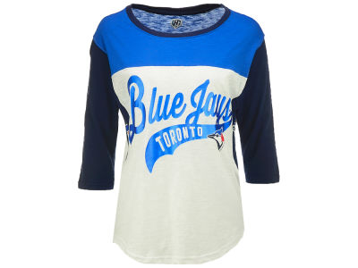 Toronto Blue Jays MLB Women's Hands High Season Pass 3/4 Sleeve T-shirt