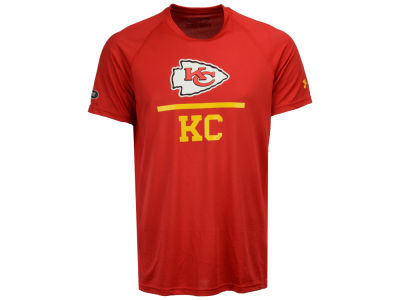 Kansas City Chiefs Under Armour NFL Men's Lockup Tech T-Shirt