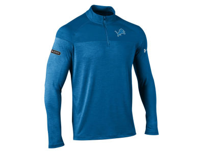 Detroit Lions Under Armour NFL Men's Twist Tech Quarter Zip Pullover