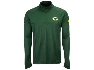 Green Bay Packers Under Armour NFL Men's Twist Tech Quarter Zip Pullover
