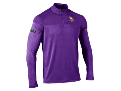 Minnesota Vikings Under Armour NFL Men's Twist Tech Quarter Zip Pullover