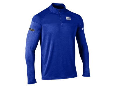 New York Giants Under Armour NFL Men's Twist Tech Quarter Zip Pullover