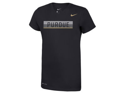 Purdue Boilermakers Nike NCAA Girls Legend V-Neck Mascot T-Shirt