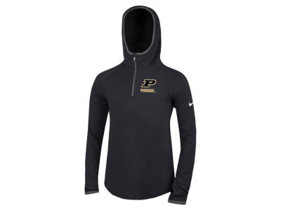 Purdue Boilermakers Nike NCAA Girls Element Logo Zip Hoodie