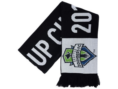 Seattle Sounders FC MLS 2016 Cup Champ Jacquard Scarf