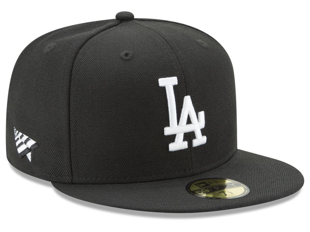 Los Angeles Dodgers New Era MLB New Era X Roc Nation 59FIFTY Cap ... db888dc5d462