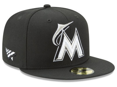 Miami Marlins New Era MLB New Era X Roc Nation 59FIFTY Cap
