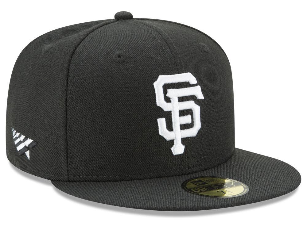 f312f121632 San Francisco Giants New Era MLB New Era X Roc Nation 59FIFTY Cap ...