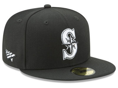 Seattle Mariners New Era MLB New Era X Roc Nation 59FIFTY Cap