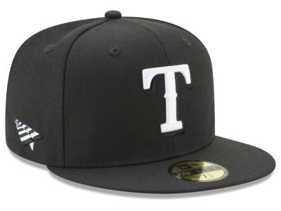 Texas Rangers New Era MLB New Era X Roc Nation 59FIFTY Cap