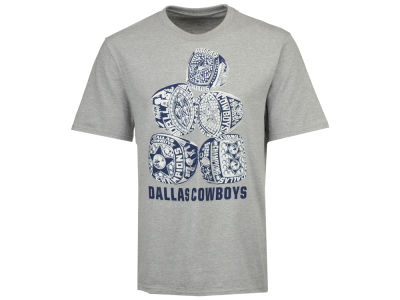Dallas Cowboys NFL Men's Rings Stack T-Shirt