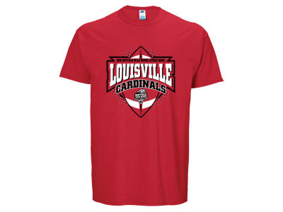 Louisville Cardinals Russell NCAA 2016 Men's College Football Playoffs Football Icon T-Shirt