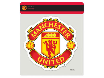 Manchester United Die Cut Color Decal 8in X 8in