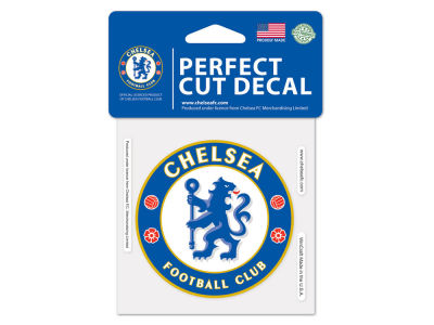 Chelsea Wincraft 4x4 Die Cut Decal Color