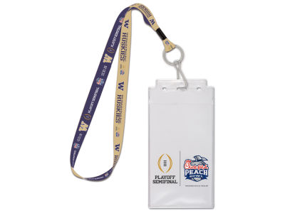 Washington Huskies Lanyard & Credential Holder - Event
