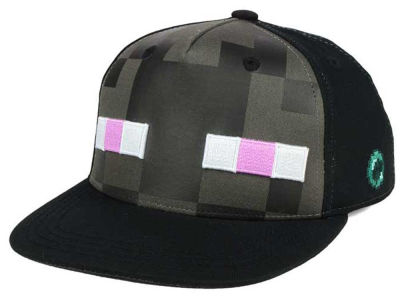Minecraft Youth Enderman Snapback Cap