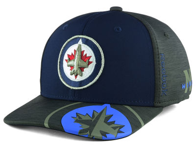Winnipeg Jets Reebok 2017 NHL Playoff Flex Cap