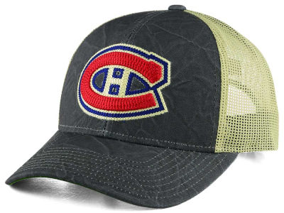 Montreal Canadiens CCM NHL Current Structured Adjustable Cap