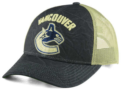 Vancouver Canucks CCM NHL Current Structured Adjustable Cap