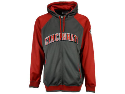 Cincinnati Reds MLB Men's Fanatic Raglan Full-Zip Hoodie