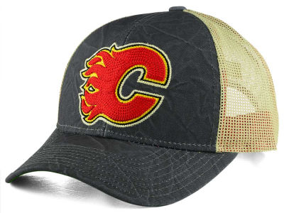 Calgary Flames CCM NHL Current Structured Adjustable Cap